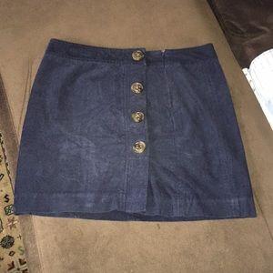 Women's corduroy vineyard vine skirt